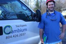 Tree pruner and arborist Brian Greene Midlothian VA 3
