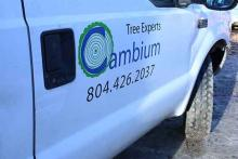 Tree pruner and arborist Brian Greene Midlothian VA 2